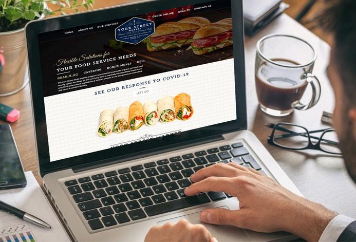 York Street Market Custom Catering Company Website