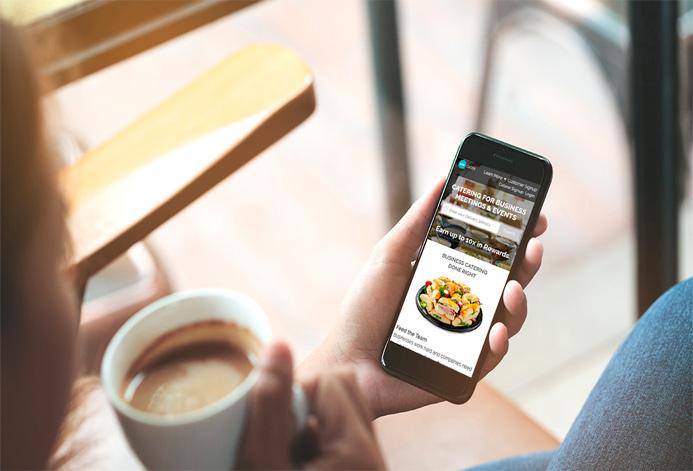 Hillside Gourmet Custom Catering Services Website
