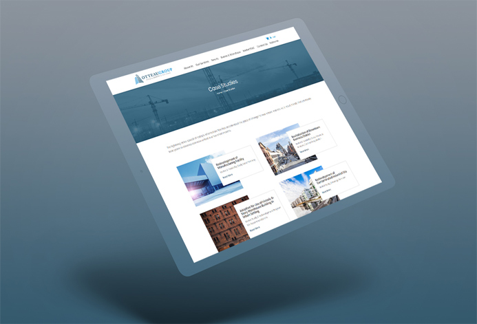 Otteau Custom Consulting Services Website