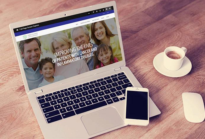 EnzyChem Custom Drug Development Website