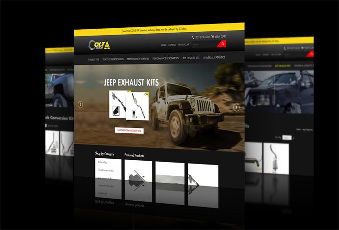 Colt Exhaust Custom Exhaust Auto Parts Retailer Website