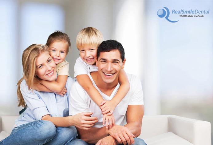 Real Smile Dental Custom General Dentist Practice Website