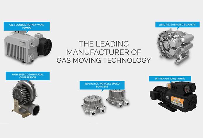 AirTech Custom Industrial Website