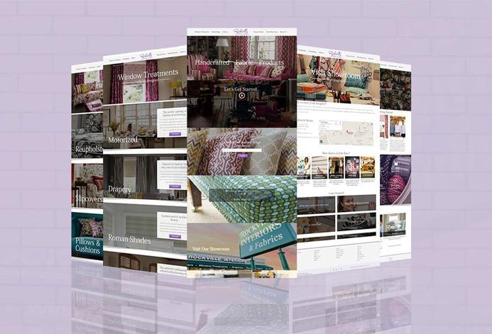 Rockville Interiors Custom Interior Design Website