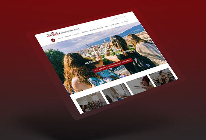 ISI Florence Custom International Education Website