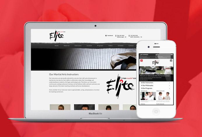 Taekwondo Elite Custom Martial Arts Website