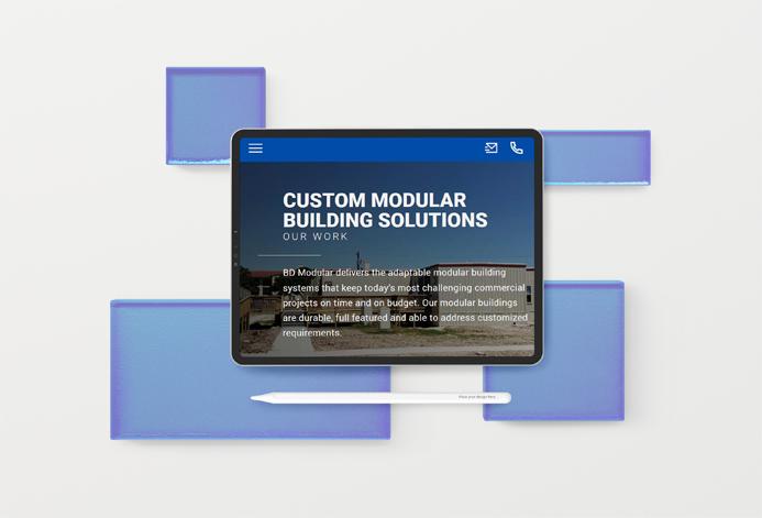 BD Modular & Leasing Custom Custom Modular Building Website