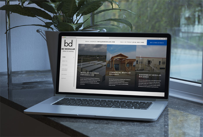 BD Modular & Leasing WordPress Website