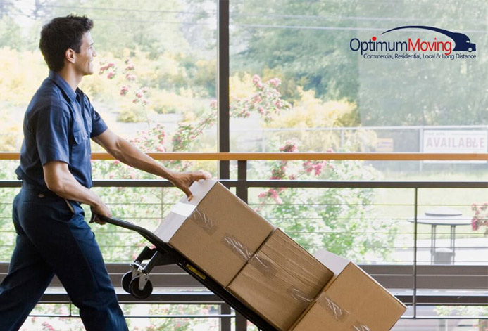 Optimum Moving Custom Moving Company Website