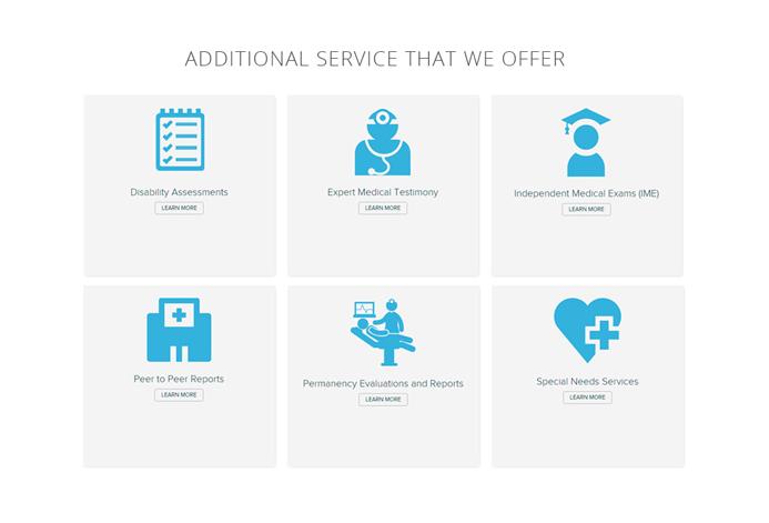 Northern Neurology Specialties Custom Neurology Practice Website