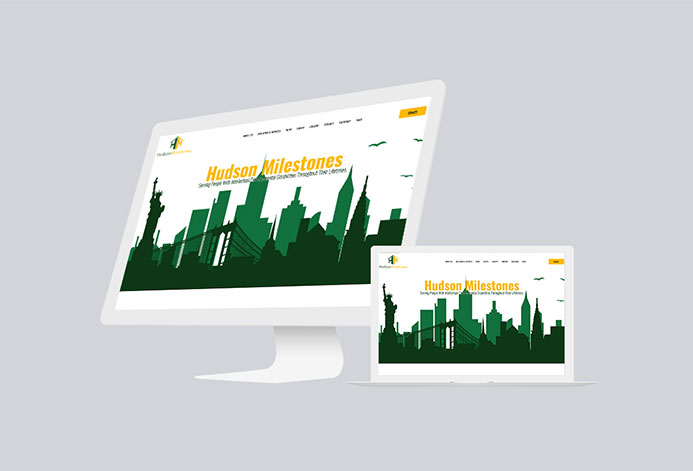 Hudson Milestones Custom Nonprofit Website