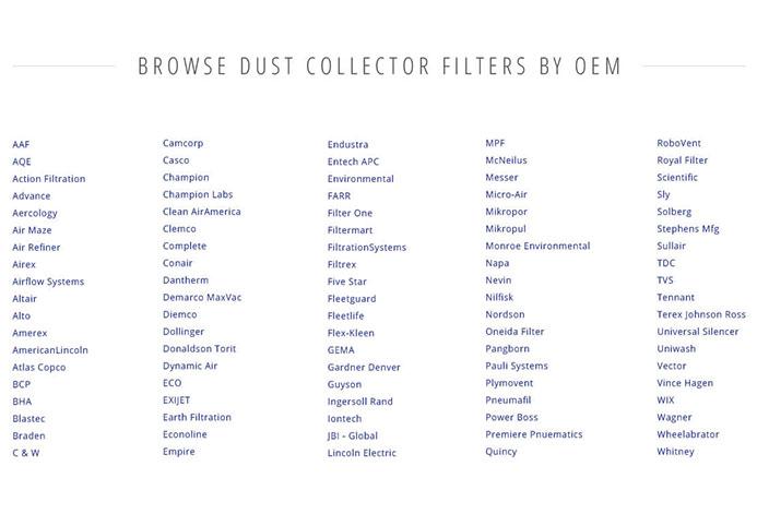 Clark Filters Direct Custom OEM Filters Ecommerce Website