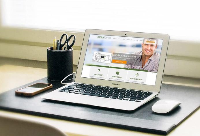 TRAXPayroll Custom Payroll Technology Website