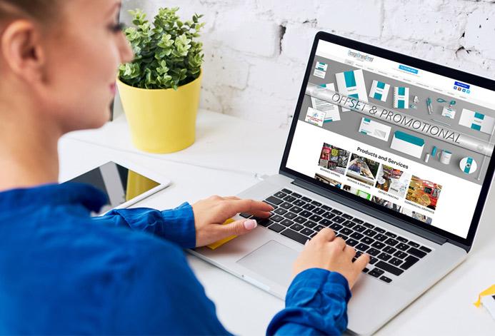 DesignBrandPrint Custom Product Branding Company Website