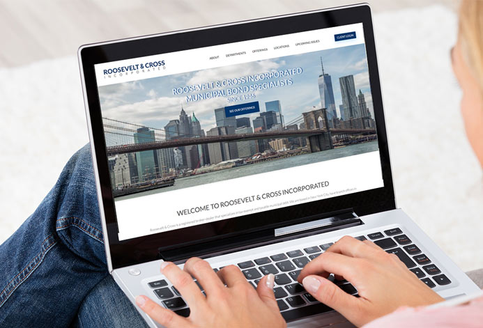 Roosevelt & Cross Custom Securities Dealer Website