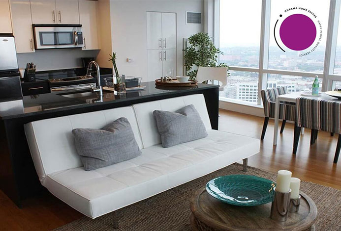Dharma Home Suites Custom Short Term Housing Website