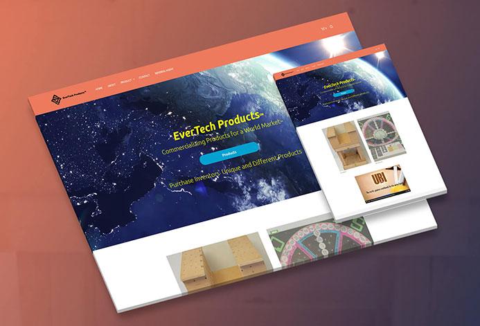 EverTech Custom Technology Ecommerce Website