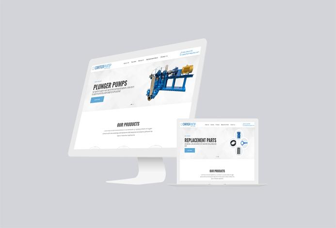 Carter Pump Custom Wastewater Treatment Website