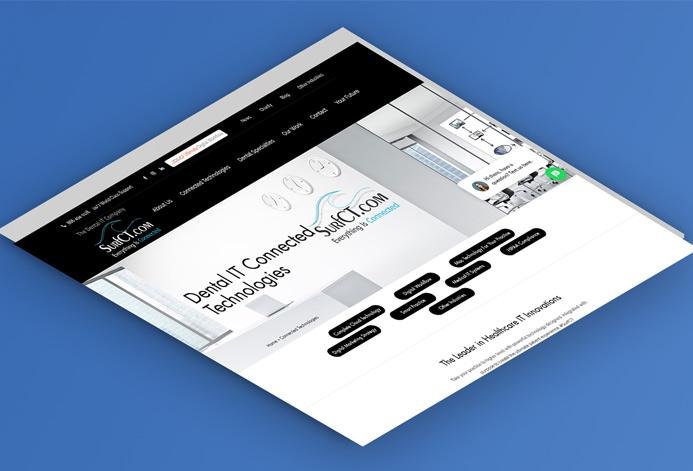 SurfCT WordPress Website
