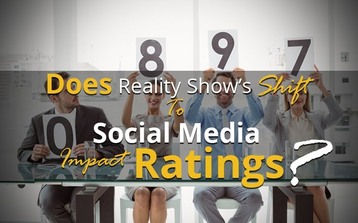 Does Reality Show's Shift to Social Media Impact Ratings?