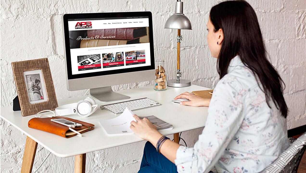 Elegant Redeveloped Website Aps Prolab