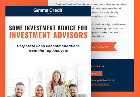 Email Newsletter Design for Gimme Credit