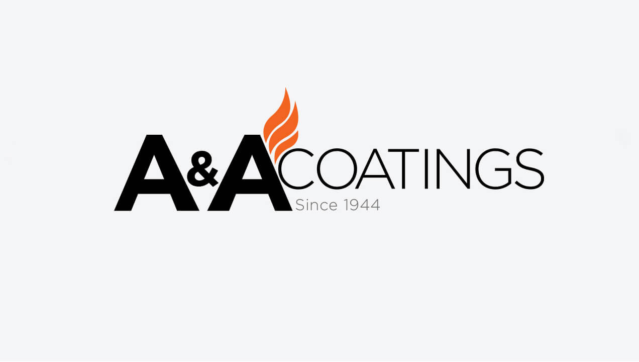 A&A Thermal Spray logo design