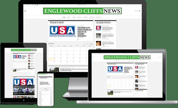 Custom website design for local news
