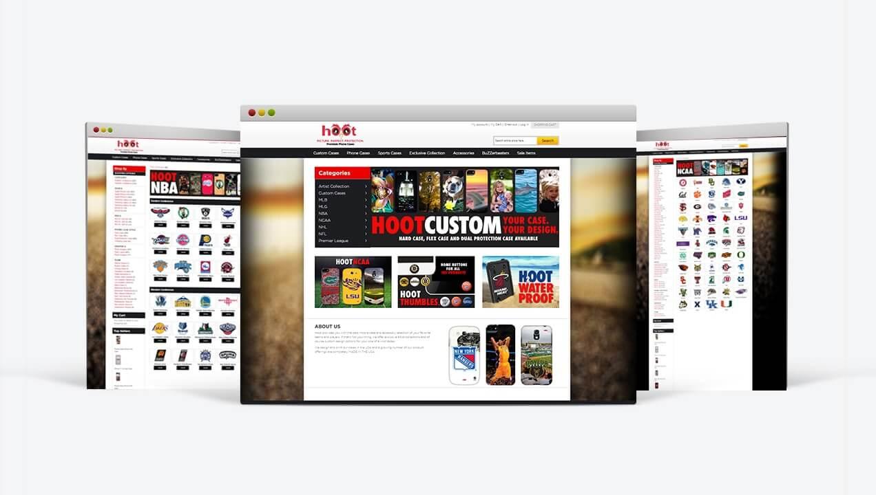 Hootcase Integrated Website Design