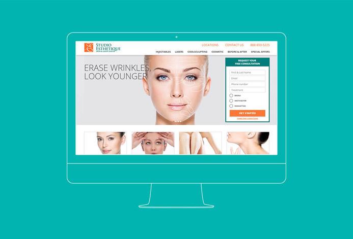 Studio Esthetique WordPress Website