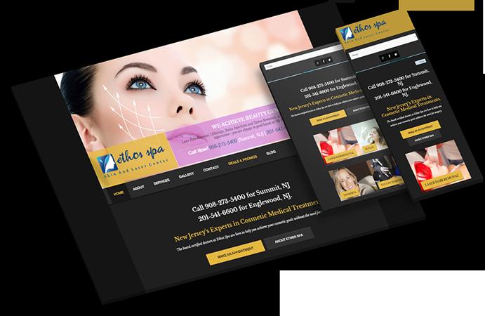 Dermatology get ↑186% results! Digital Marketing, Design