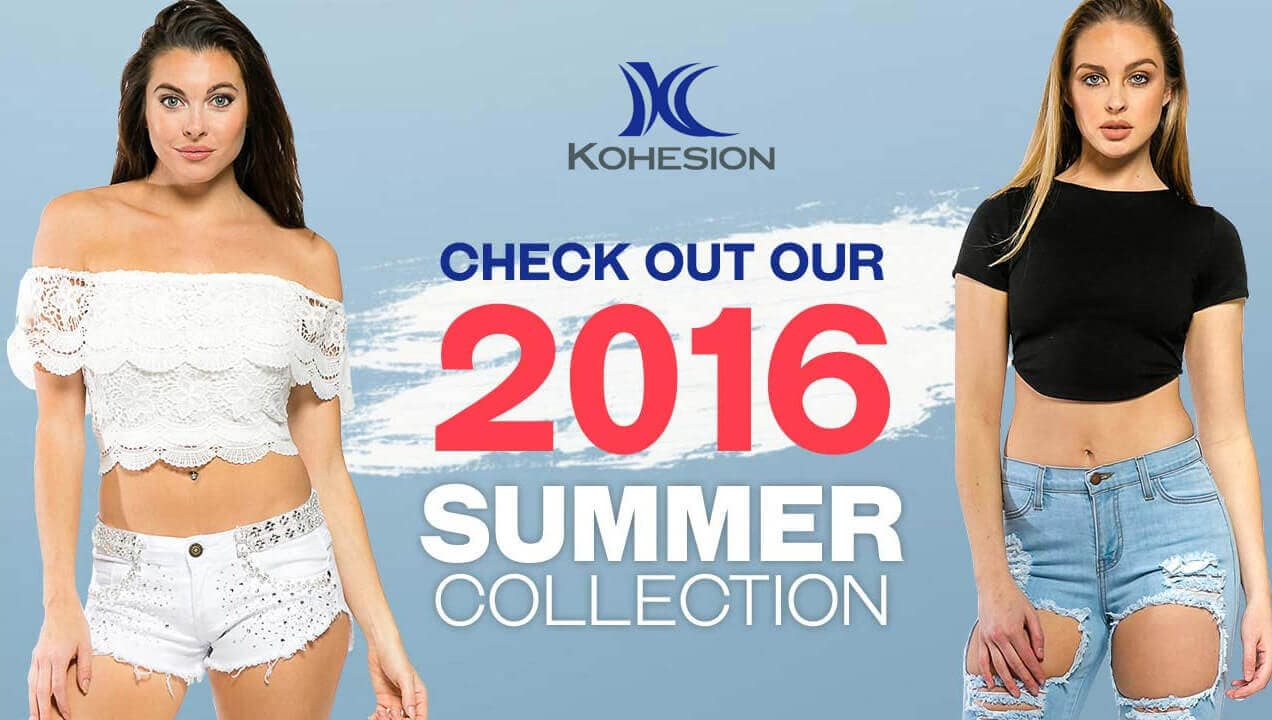 Kohesion Clothing 2016 Summer Collection Banner Design