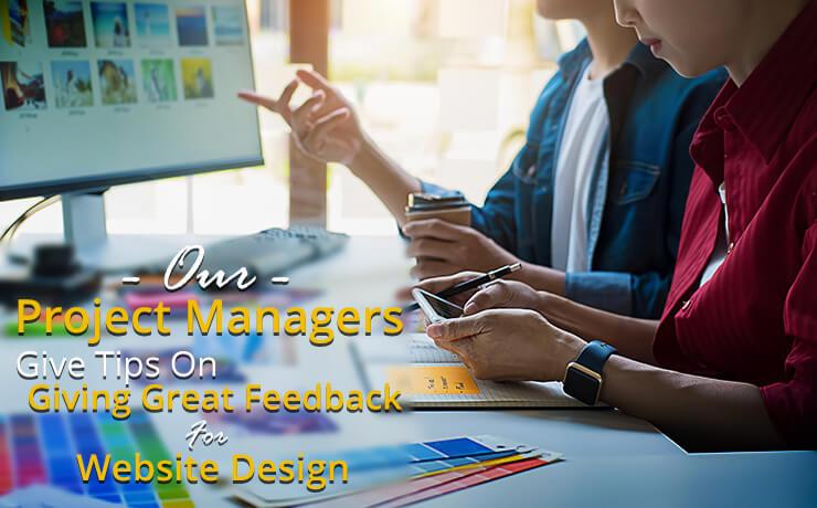 feedback for website design