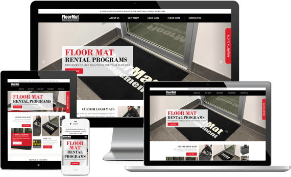Floor Mat Management Web Design Home Services