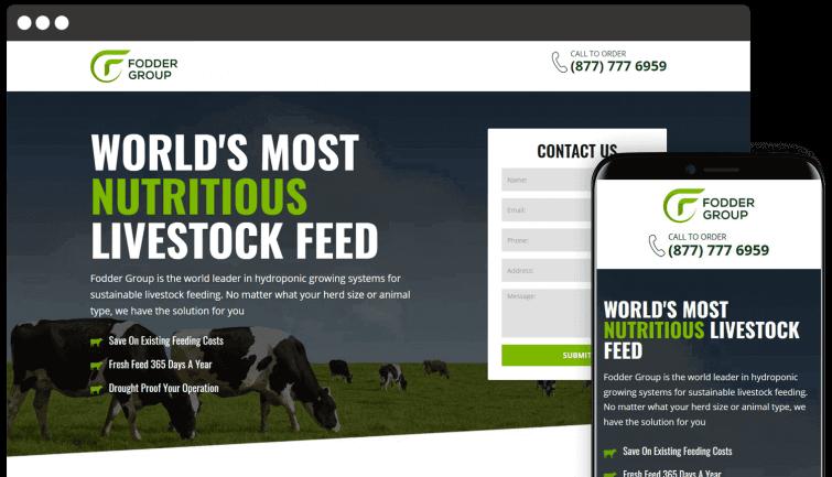 Fodder Group: B2B Website Redesign