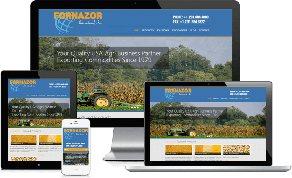 Fornazor International Web Design Industrial & Commercial