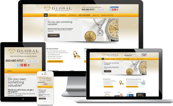 Global Gold and Silver PPC Marketing Paid Search