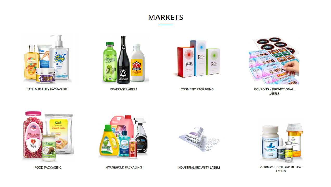Hampshire Label Products