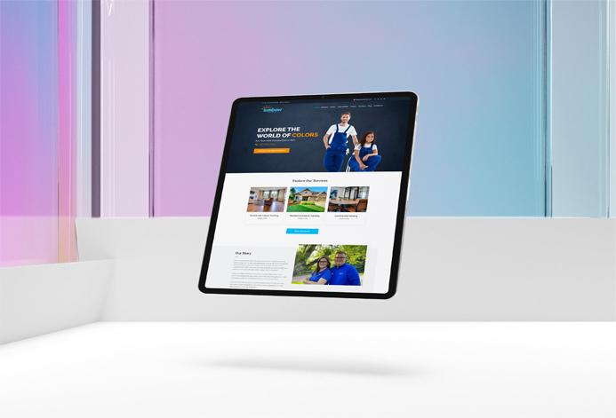 Sunbow Company WordPress Website