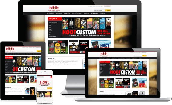 Hootcase Web Design Retail
