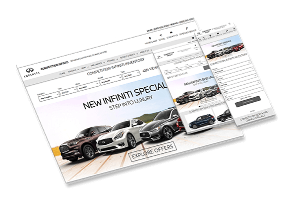 Competition Infiniti: Automotive PPC Example