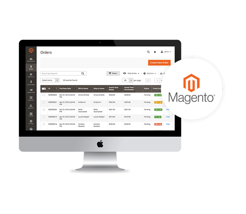 Magento Developments