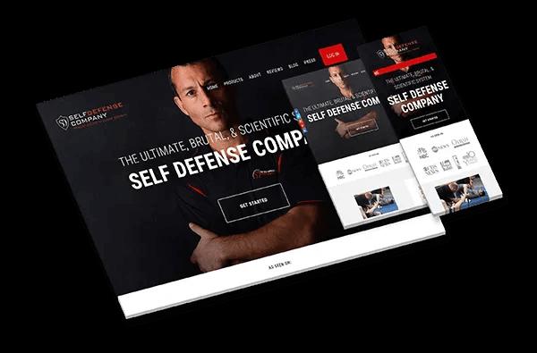 Self Defense Company: Small SEO Example