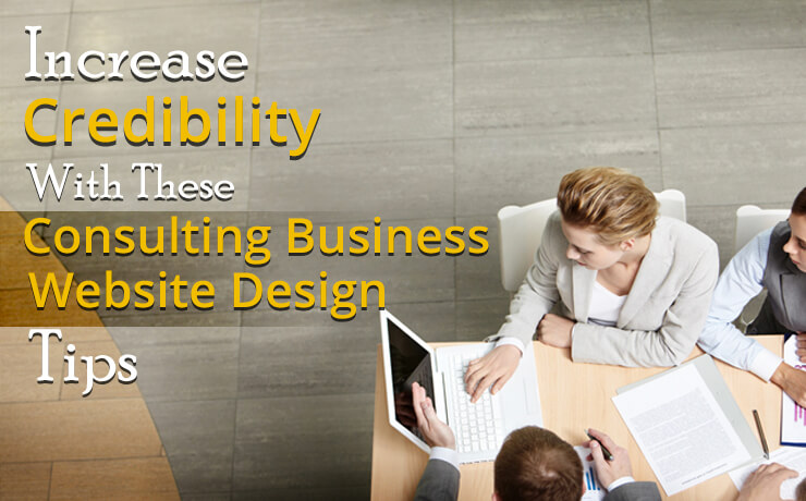 consulting business website design