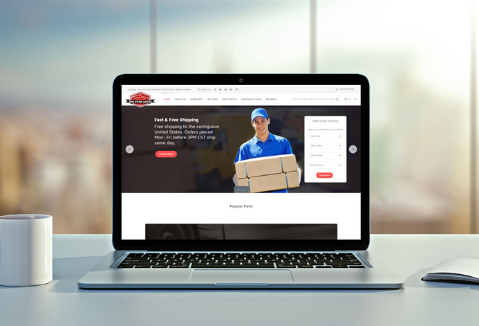 Increase Online Sales for Auto Parts Stores