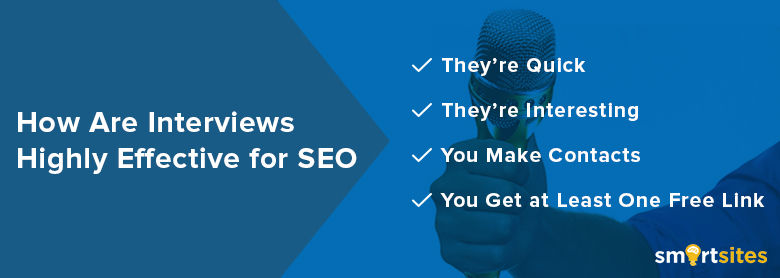 How Are Interviews Highly Effective For SEO