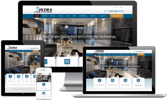 Intra Home Systems Web Design Home Services