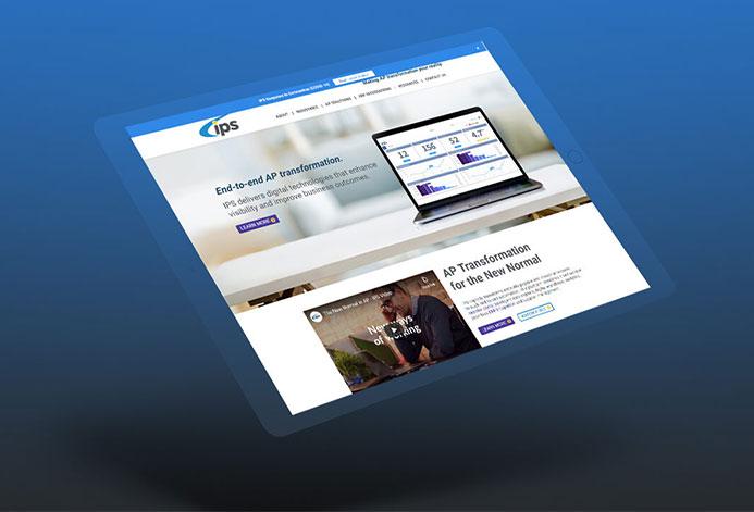 IPS Custom Invoice Processing Website