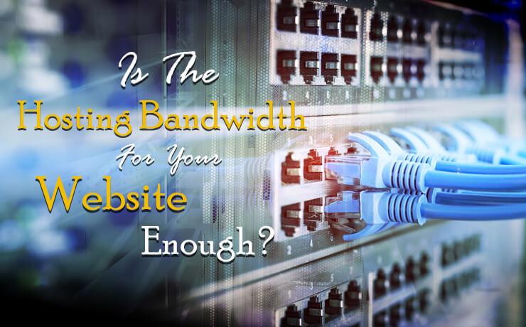 hosting bandwidth