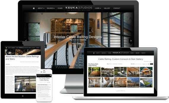 Keuka Studios Web Design Home Services